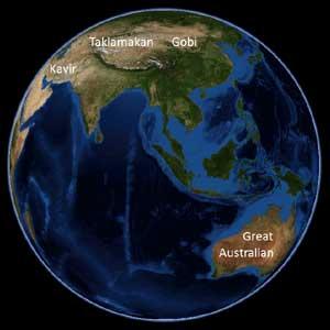 Asian and Australian Deserts